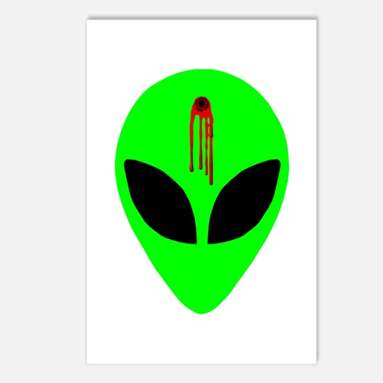 Dead Alien Postcards (Package of 8)