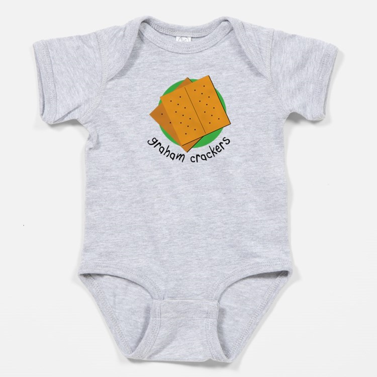 Triplet S'mores! (graham Crackers) Baby Bodysu