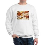 ANCIENT LASCAUX BULLS Sweatshirt