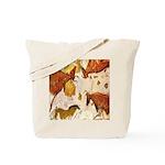 ANCIENT LASCAUX BULLS Tote Bag