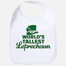 World's tallest Leprechaun Bib