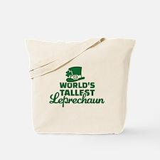 World's tallest Leprechaun Tote Bag