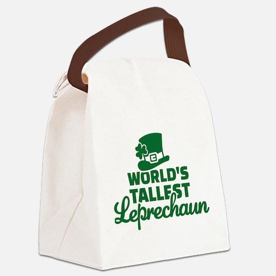 World's tallest Leprechaun Canvas Lunch Bag