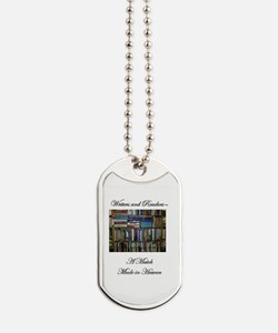 Writers and Readers Dog Tags