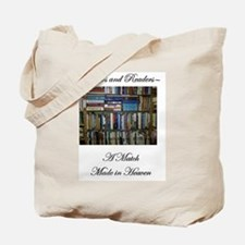 Writers and Readers Tote Bag