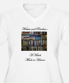 Writers and Readers Plus Size T-Shirt