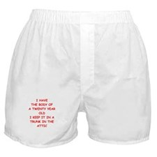 sic joke Boxer Shorts