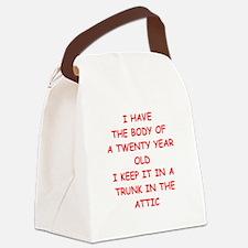 sic joke Canvas Lunch Bag