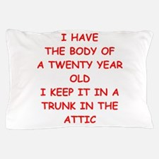 sic joke Pillow Case