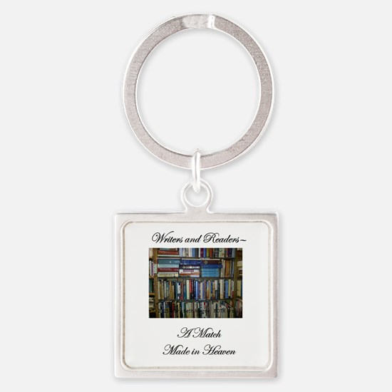 Writers and Readers Keychains