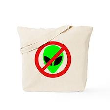 No More Aliens Tote Bag