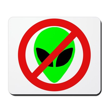 No More Aliens Mousepad