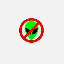 No More Aliens Mini Button