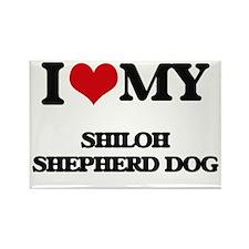 I love my Shiloh Shepherd Dog Magnets