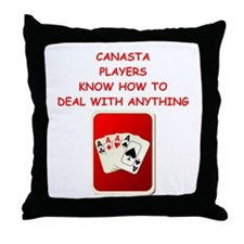 canasta Throw Pillow