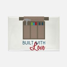Built with Love Magnets