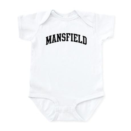 MANSFIELD (curve-black) Infant Bodysuit