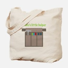 Daddys Little Helper Tote Bag