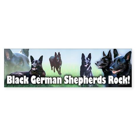 Black Sheps Rock Bumper Sticker