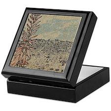 Unique Earthtones Keepsake Box
