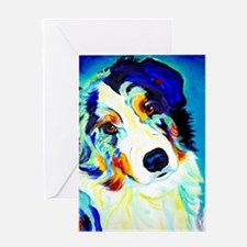 Funny Australian shepherds Greeting Card