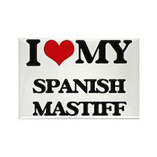 I love my Spanish Mastiff Magnets