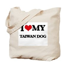 I love my Taiwan Dog Tote Bag