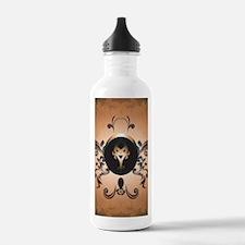 Insight, foresight rune Water Bottle