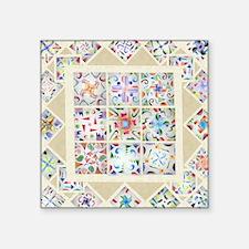 """Cute 8th grade Square Sticker 3"""" x 3"""""""