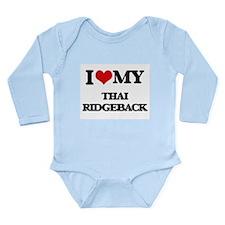 I love my Thai Ridgeback Body Suit