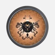 Insight, foresight rune Wall Clock