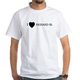 Richard iii Mens White T-shirts