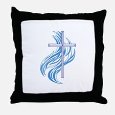 METHODIST CROSS Throw Pillow