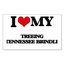 I love my Treeing Tennessee Brindle Decal