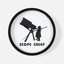 Scope Creep Wall Clock