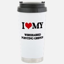 I love my Wirehaired Po Stainless Steel Travel Mug