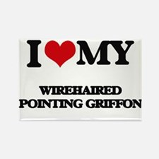 I love my Wirehaired Pointing Griffon Magnets