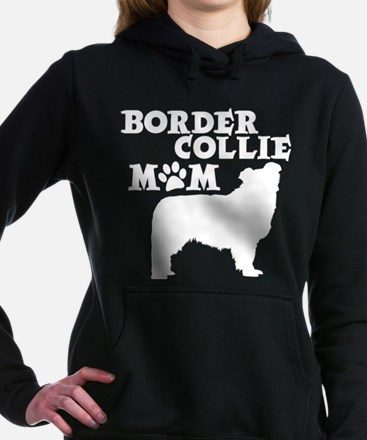 Border Collie MOM Women's Hooded Sweatshirt