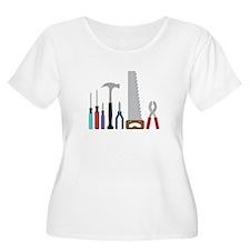 Tool Set Plus Size T-Shirt