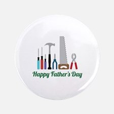 """Happy Fathers Day 3.5"""" Button"""