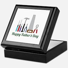 Happy Fathers Day Keepsake Box
