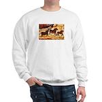 LASCAUX HORSES Sweatshirt