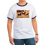 LASCAUX HORSES Ringer T