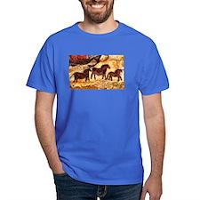 LASCAUX HORSES T-Shirt