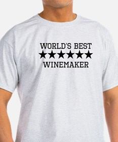 Worlds Best Winemaker T-Shirt