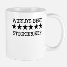 Worlds Best Stockbroker Mugs