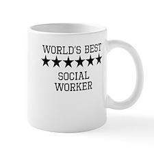 Worlds Best Social Worker Mugs