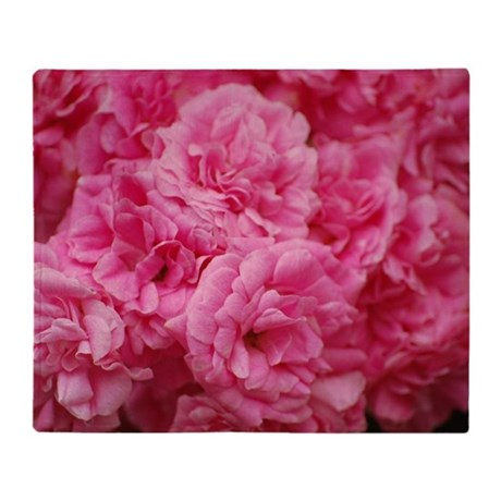 pale pink roses throw blanket by listing store 124530775. Black Bedroom Furniture Sets. Home Design Ideas