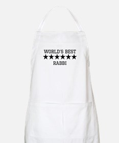 Worlds Best Rabbi Apron