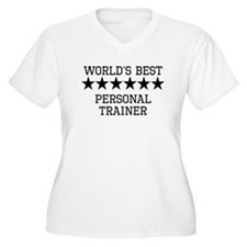 Worlds Best Personal Trainer Plus Size T-Shirt